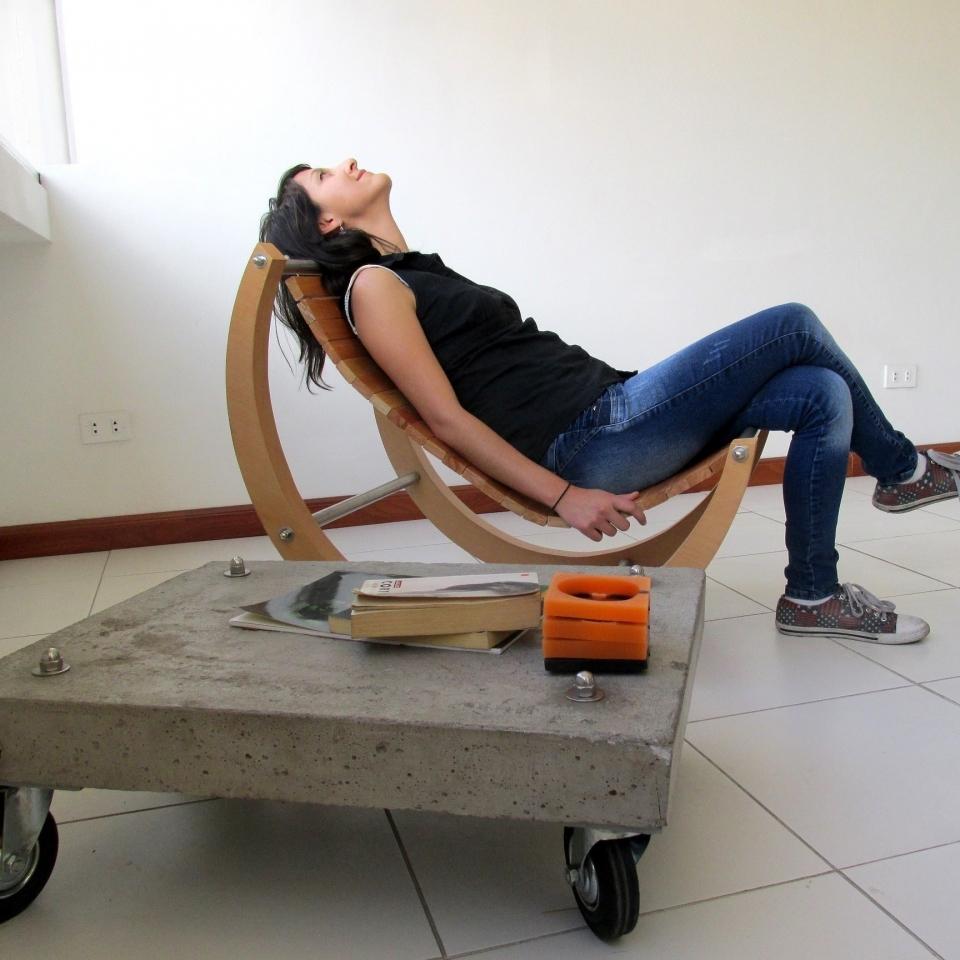 Silla Moon 3. Diseño y venta de muebles quito ecuador